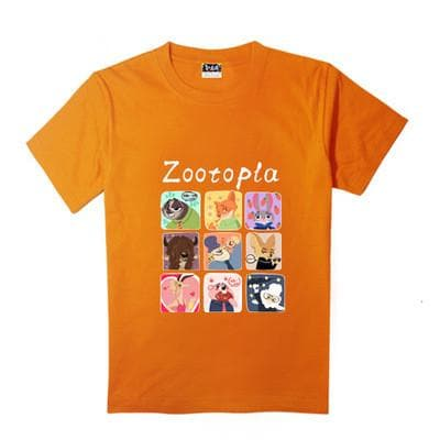 XS-XL Zootopia Lovely Animals T-Shirt SP165713 - SpreePicky  - 9