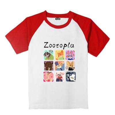 XS-XL Zootopia Lovely Animals T-Shirt SP165713 - SpreePicky  - 10