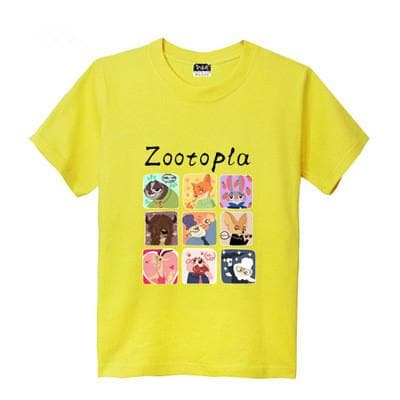 XS-XL Zootopia Lovely Animals T-Shirt SP165713 - SpreePicky  - 11