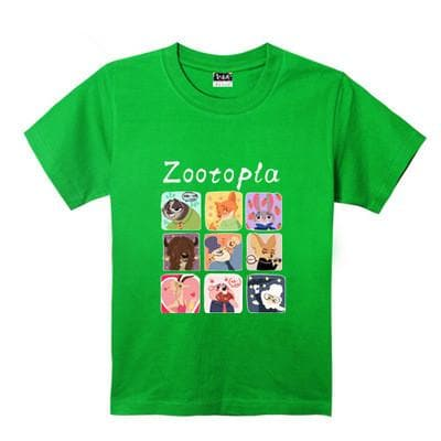 XS-XL Zootopia Lovely Animals T-Shirt SP165713 - SpreePicky  - 12