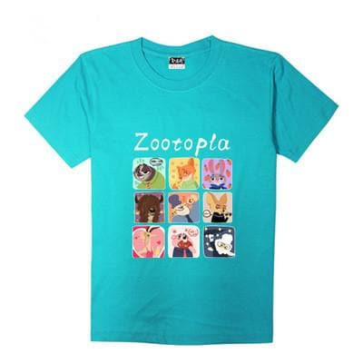 XS-XL Zootopia Lovely Animals T-Shirt SP165713 - SpreePicky  - 13