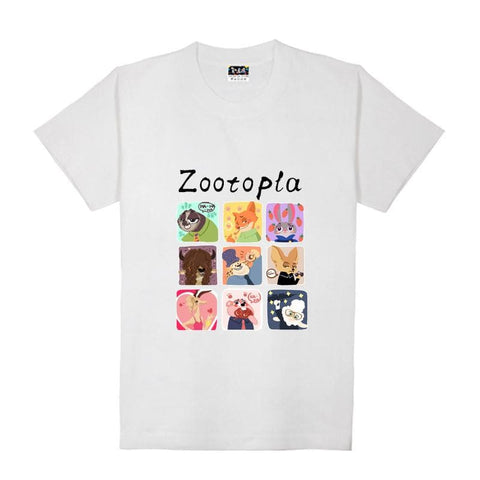 XS-XL Zootopia Lovely Animals T-Shirt SP165713 - SpreePicky  - 4