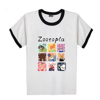 XS-XL Zootopia Lovely Animals T-Shirt SP165713 - SpreePicky  - 7