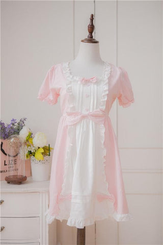 XS - 4XL Mint/Pink Pastel Candy Maid Dress SP152182 - SpreePicky  - 5