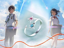 Load image into Gallery viewer, [Your Name] Blue and Pink Two Star Ring SP178765