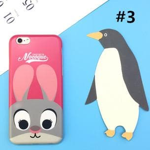 Kawaii Rabbit Judy/Fox Nick Iphone Phone Case SP165684