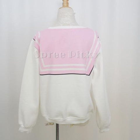 [S-XL]Sailor Chibi Moon Fleece Jumper Top SP141185 - SpreePicky  - 6