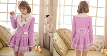 Load image into Gallery viewer, S/M/L Purple Elegant Coat SP153620 - SpreePicky  - 2