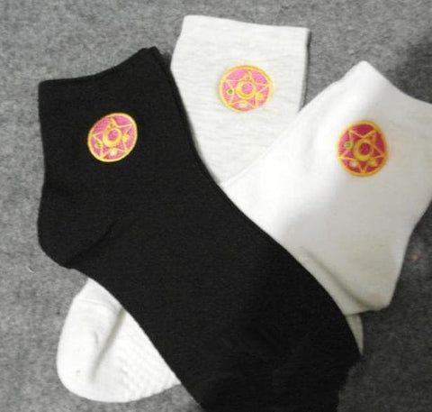 [3 for 2] Sailor Moon Moon Prism Seifuku Socks SP153159 - SpreePicky  - 5