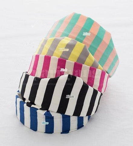 5 Colors Stripes Cotton Hair Band SP152015 - SpreePicky  - 2