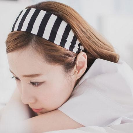 5 Colors Stripes Cotton Hair Band SP152015 - SpreePicky  - 3