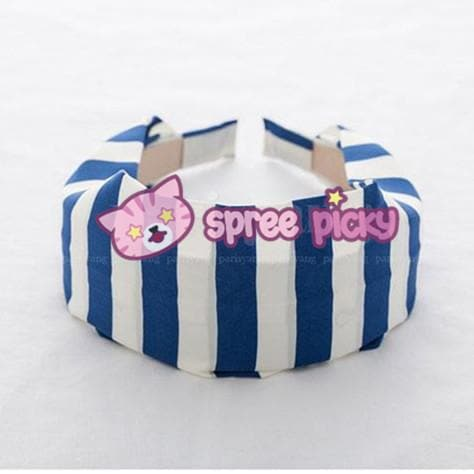 5 Colors Stripes Cotton Hair Band SP152015 - SpreePicky  - 6
