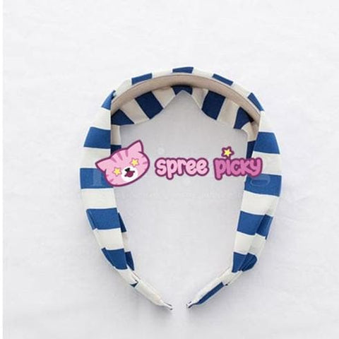 5 Colors Stripes Cotton Hair Band SP152015 - SpreePicky  - 5