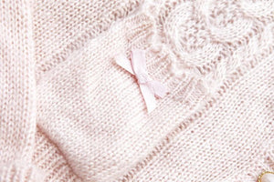 White/Beige/Pink Mori Girl Knitted Sweater Cardigan Jacket SP153443 - SpreePicky  - 8