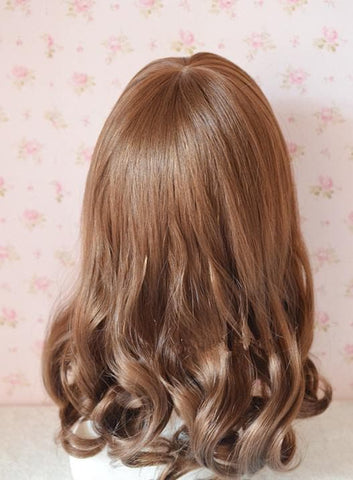 Brown/Black Kawaii Cute Short Curly Wig SP140813 - SpreePicky  - 3