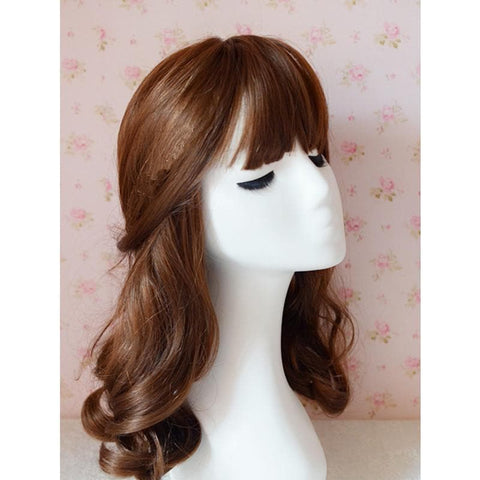 Brown/Black Kawaii Cute Short Curly Wig SP140813 - SpreePicky  - 2