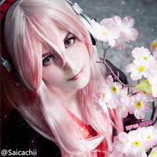 Load image into Gallery viewer, Cosplay Super Sonico Pale Pink Long Wig  SP141223