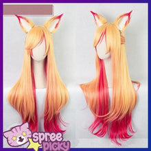 Load image into Gallery viewer, League of Legends Star Guardian Ahri Wig SP1711576