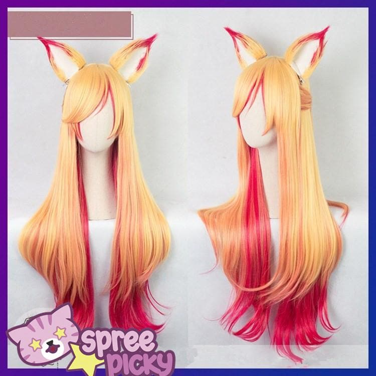 League of Legends Star Guardian Ahri Wig SP1711576