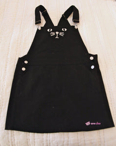 Black Kitten Adjustable Suspender Skirt Dress SP153652 - SpreePicky  - 10