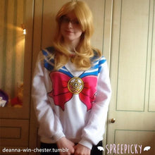 Load image into Gallery viewer, [M/XL]Sailor Moon Sweater Fleece Jumper SP130203 - SpreePicky  - 4