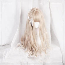 Load image into Gallery viewer, Cute Lolita Brown White Gradient Long/ Short Wig SP15494