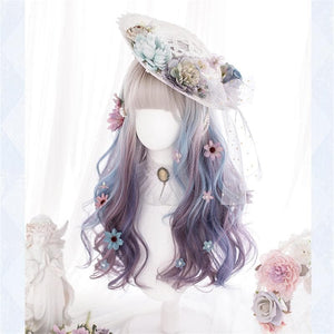 Lolita Misty Gradient Long Curly Wig SS0791