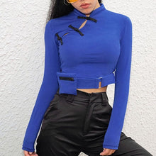 Load image into Gallery viewer, Buckle Tight Crop Top SS0576