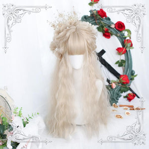Lolita Fluffy  Long Curly Wig SS0848