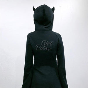 Girl Power Hoodie Dress SP15215
