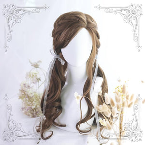 Lolita Angel Psyche Long Curly Wig SS0691