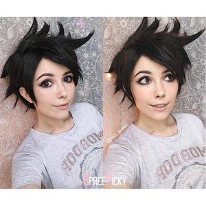 Dark Brown Overwatch Tracer Wig SP167920