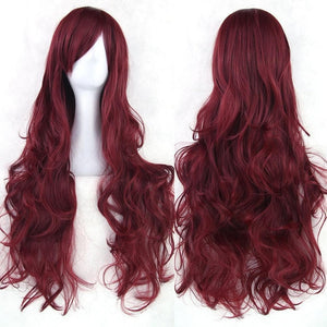 Wavy Cosplay Wig 80cm (Heat Resistant) [20 Colors] SP14603 - SpreePicky FreeShipping