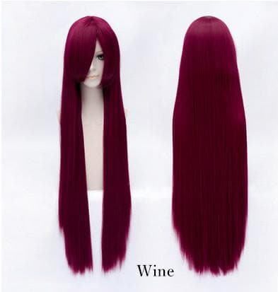 20 Colors Cosplay Long Straight Wig 100 CM SP152549 - SpreePicky  - 12