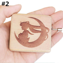 Load image into Gallery viewer, Wooden Sailor Moon Music Box SP13530
