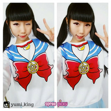Load image into Gallery viewer, [M/XL]Sailor Moon Sweater Fleece Jumper SP130203