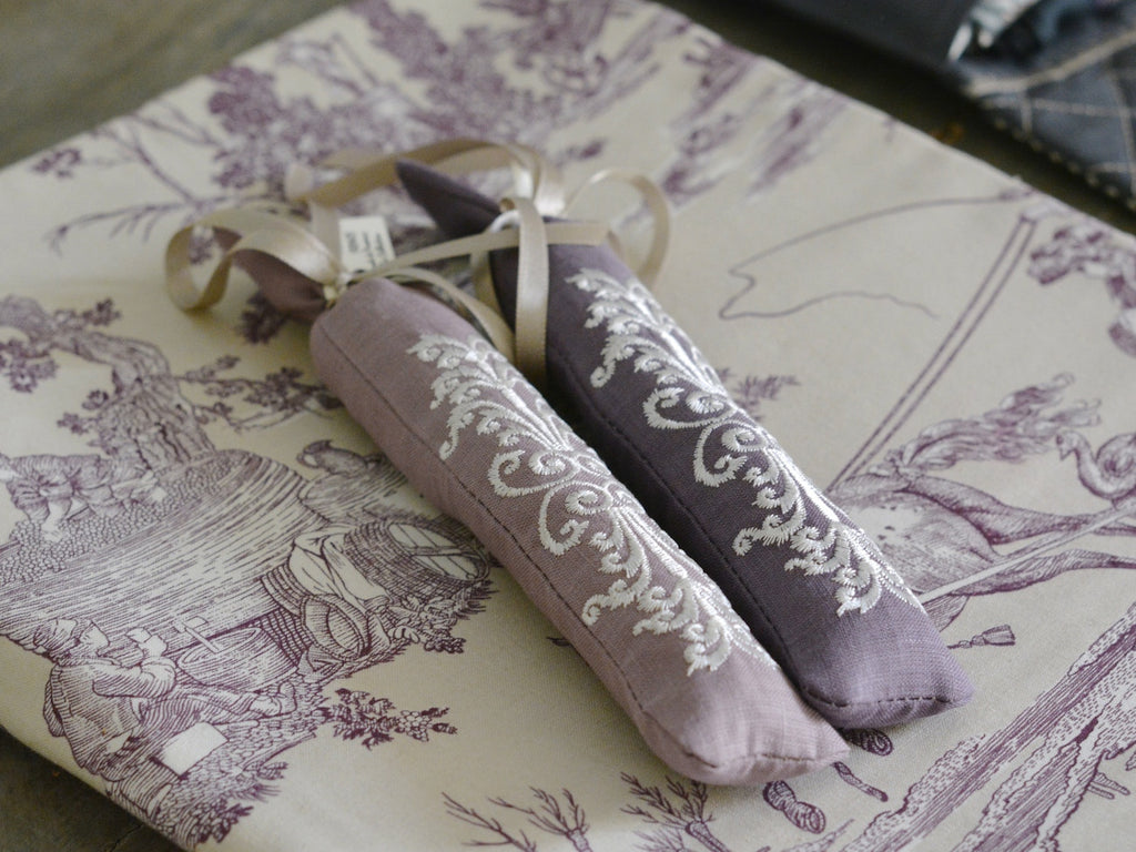 LAVENDER SACHETS - set of two - MaiTai Collection  - 1