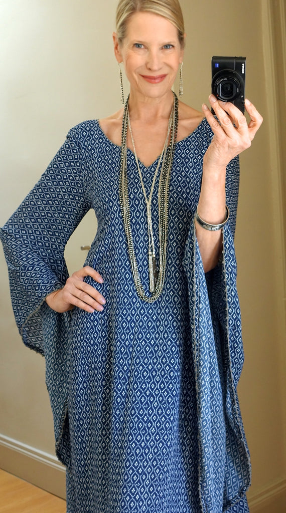 Tassel and multi strand necklace - duo
