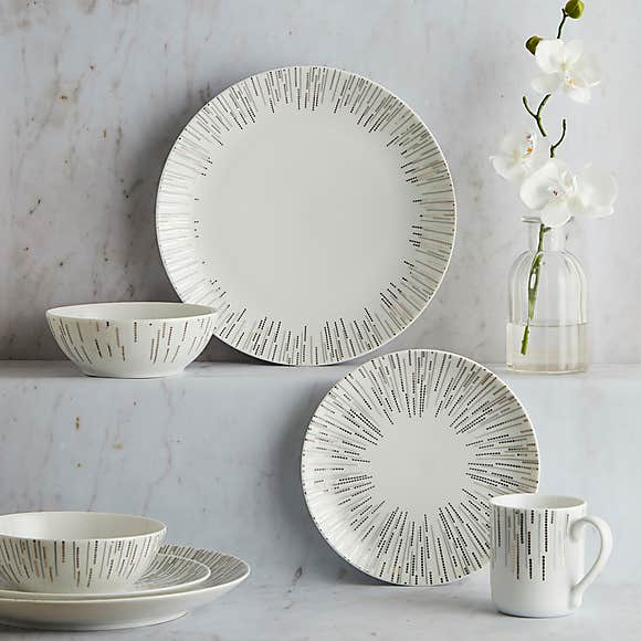 Glamour 16 Piece Dinnerware Set