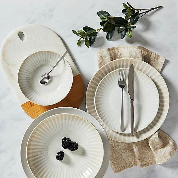 Sanctuary 12 Piece Dinnerware Set