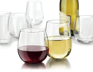 Libbey Vina Stemless 12-Piece Wine Glasses Set - Wedding Gift Registry Nigeria