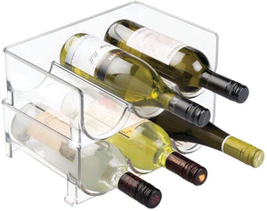 Modern Clear Wine Rack