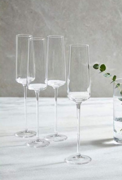 Pembury Champagne Flutes, Set of 4