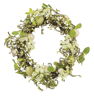 Country Meadow Easter Wreath - Wedding Gift Registry Nigeria