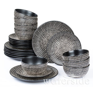 Eunice 24 Piece Dinnerware Set