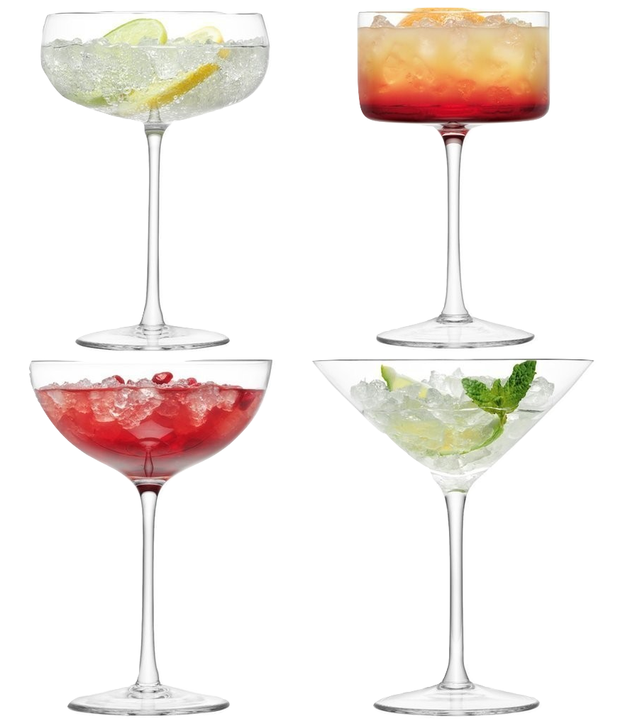 Lulu Cocktail Glass Set - Wedding Gift Registry Nigeria