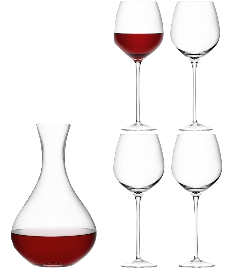 Wine Red Wine Set - Wedding Gift Registry Nigeria