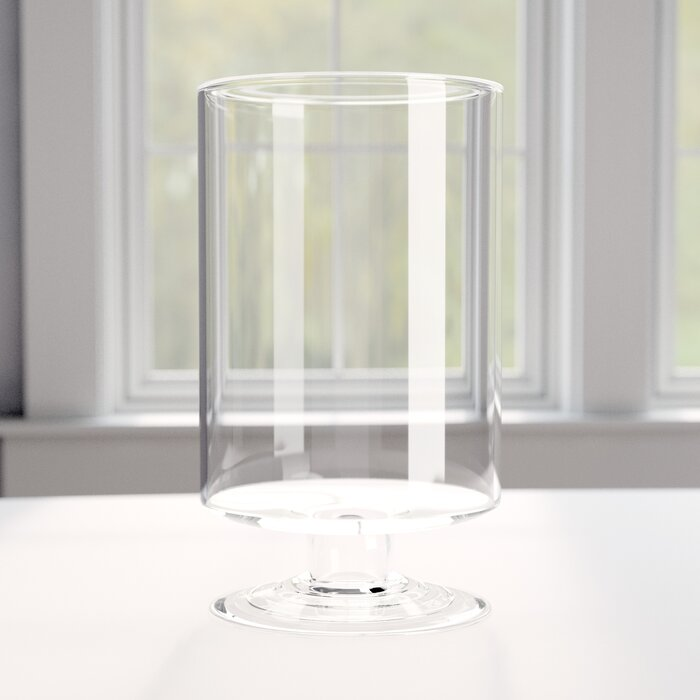 Hurricane On Stand Table Vase