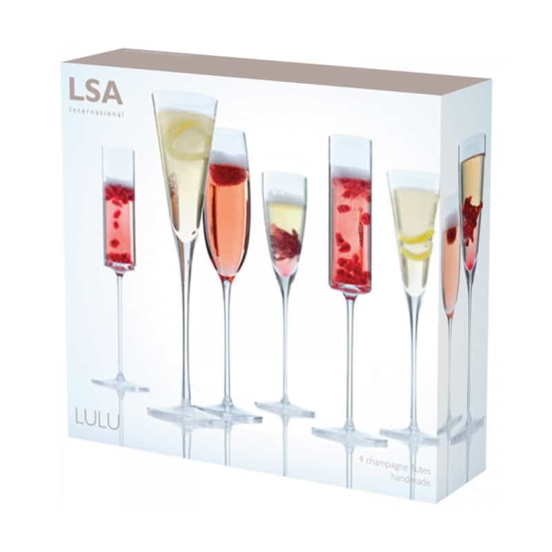 Lulu Champagne Flute Set - Wedding Gift Registry Nigeria
