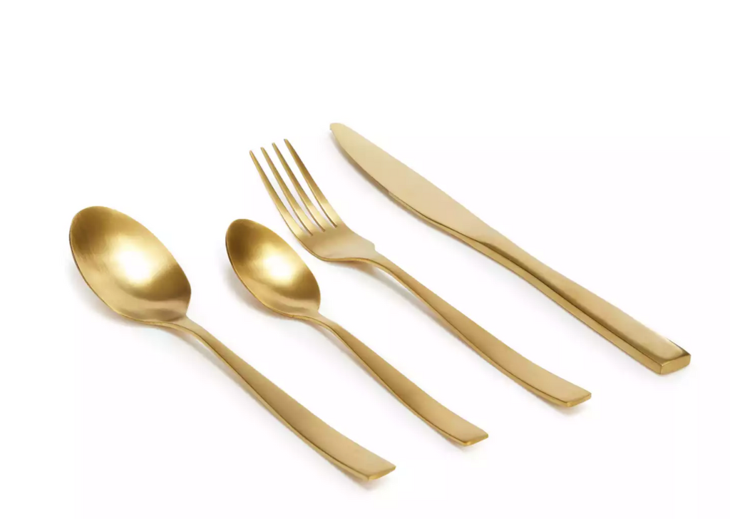 Gold Radiance Flatware